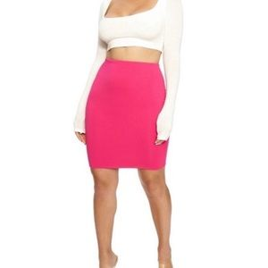NakedWardrobe Hour Glass Mini Skirt